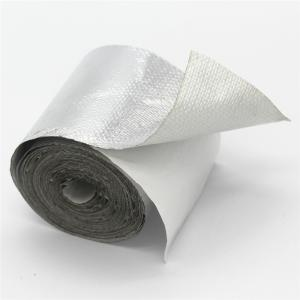 aluminum-coated fiberglass heat shielding tape