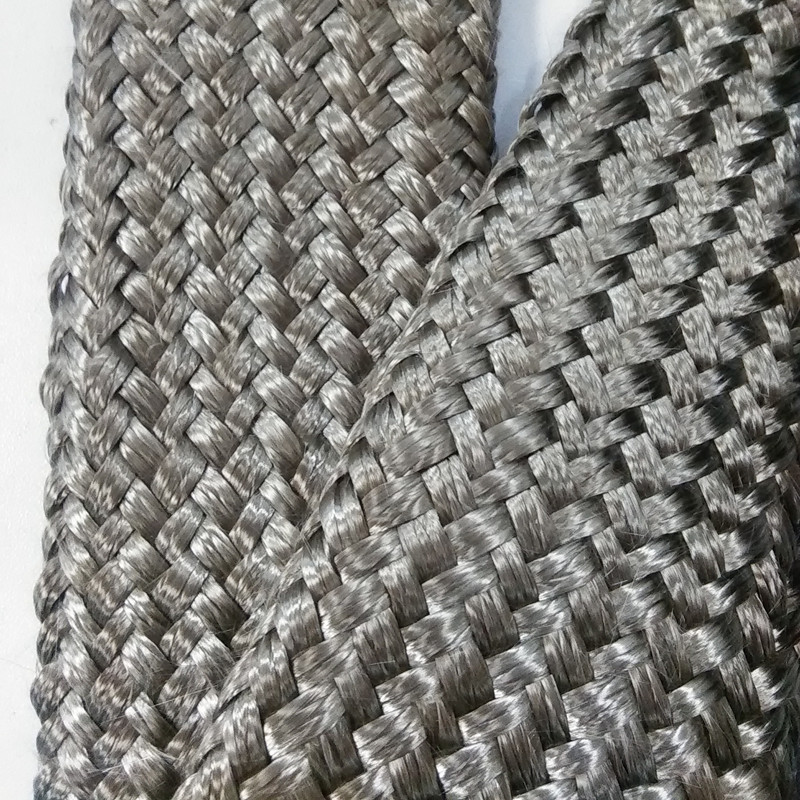 Basalt fiber braided sleeving