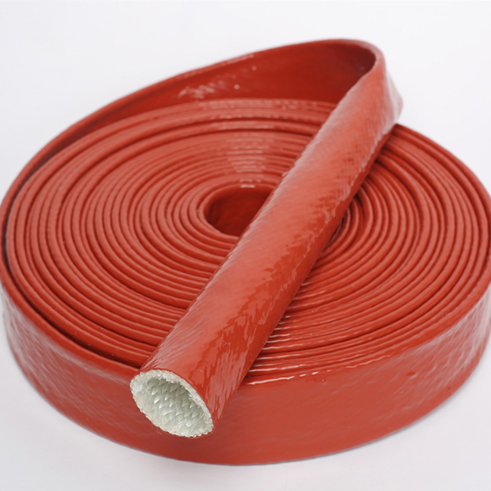 High Temperature Hose Sleeve Firesleeve DIN54837 DIN5510-2 Fire Test